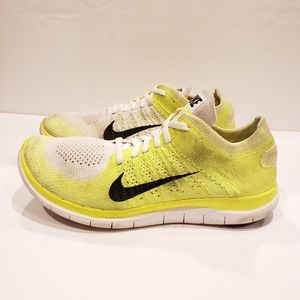Nike Womens Free Flyknit 4.0 Running Shoes Ladies